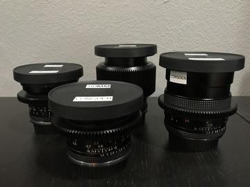 Rent: Ziess Contax Lens Kit
