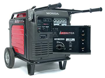 Rent: Honda 6500 with 60 amp bates