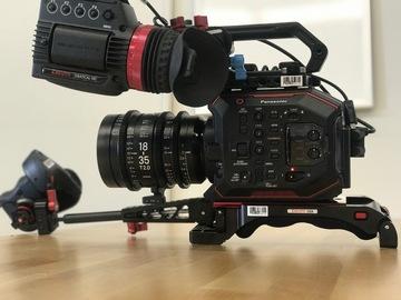 Rent: Panasonic EVA1, Sigma 18-35 T2 Cine, Inferno, Anton Bauers