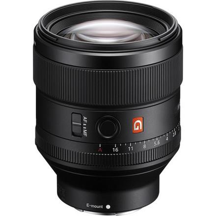 Sony FE 85mm F1.4 GM (G Master) lens