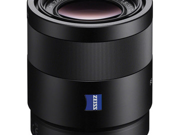 Rent: Sony FE Sonnar T* 55mm f/1.8 /w UV and Variable ND Filters