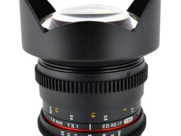 Rent: 14mm T3.1 Cine Wide Angle Lens