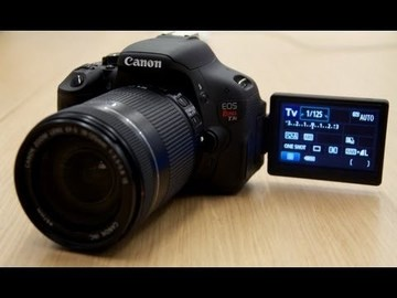 Rent: Canon EOS Rebel T3i Digital SLR + 50% off Lens Rental