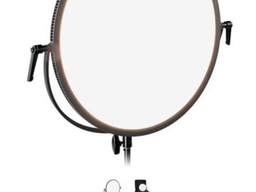 "Fotodiox 18"" Round Ultra-Thin Bicolor Dimmable LED"