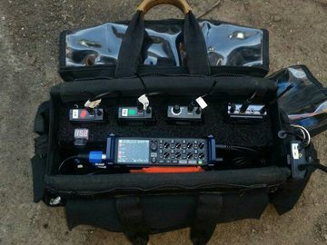 Rent: Zoom F8, Timecode, 5x wireless, 3x shotguns, 3x Comteks