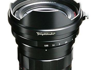 Rent: Voigtlander 10.5mm f.95 prime lens - micro four thirds M43