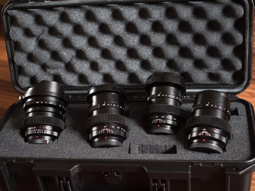 Rent: Voigtlander f.95 Prime set MFT 10.5mm 17.5mm 25mm 42.5mm
