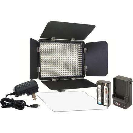Vidpro LED-330X Variable-Color On Camera Light (2x Units)