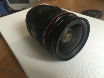 Rent: Canon 24-70mm f2.8 L Zoom Lens
