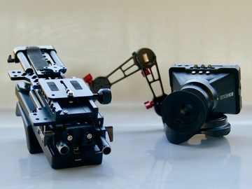 Shoulder rig, side-mount HD monitor for Canon (and others)