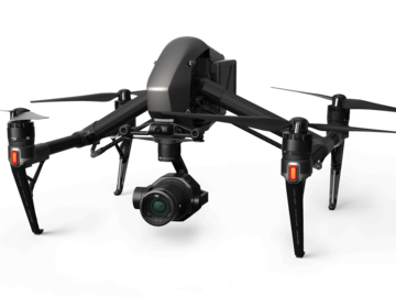 DJI Inspire 2 Quadcopter and X7 camera with pilot