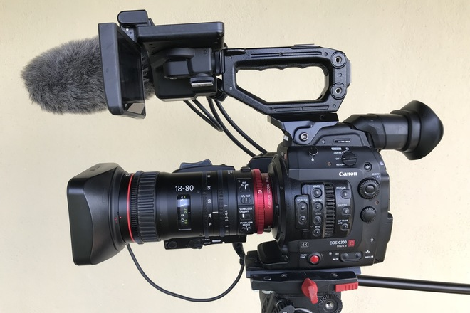 C300 MKII kit w/ 18-80 Cinema Zoom and 70-200 IS lenses
