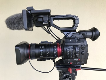 Rent: C300 MKII Kit w/ 18-80 Cinema Zoom and 70-200 IS lenses