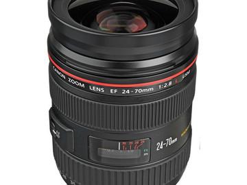 Rent: Canon Zoom Wide Angle-Telephoto EF 24-70mm f/2.8L USM Autofo