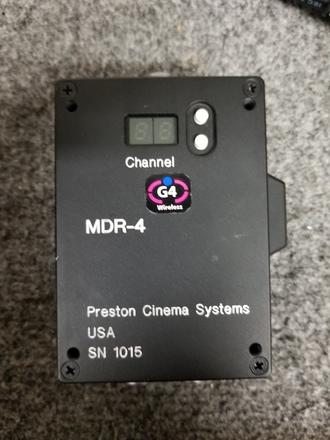 PCS single channel setup: MDR4, DM2, Focus/Iris HU
