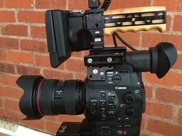 Rent: C300 w/ 4 zoom lenses  and tripod