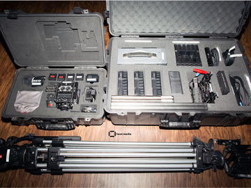 Rent: RED Dragon, Full Package: lenses, tripod, handheld rig