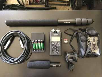 Rent: Audio Technica AT875R & TASCAM DR-40 Package