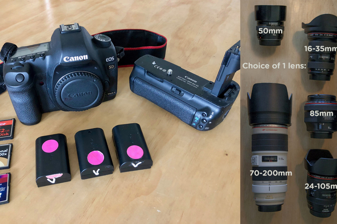 Canon 5D Mark II + 1 lens PACKAGE
