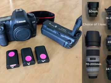 Canon 5D Mark II + 1 lens PACKAGE