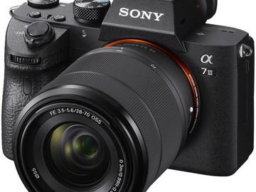 Rent: Sony a7 III
