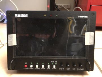 Marshall V-R70P 7-In Widescreen LCD Monitor