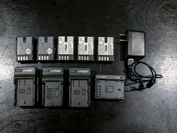 Rent: Panasonic GH5 Batteries & Chargers