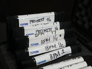 Rent: Tiffen 4x4 BPM Black Pro Mist Filters Set x5