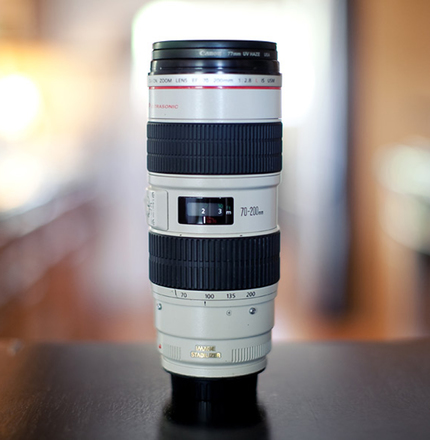 Canon EF 70-200mm f/2.8L IS II USM Lens + 3D Gear Ring