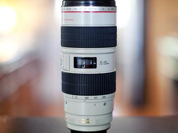 Rent: Canon EF 70-200mm f/2.8L IS II USM Lens + 3D Gear Ring