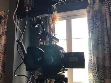 Rent: Blackmagic URSA Mini Pro kit w monitor, prime lenses, tripod