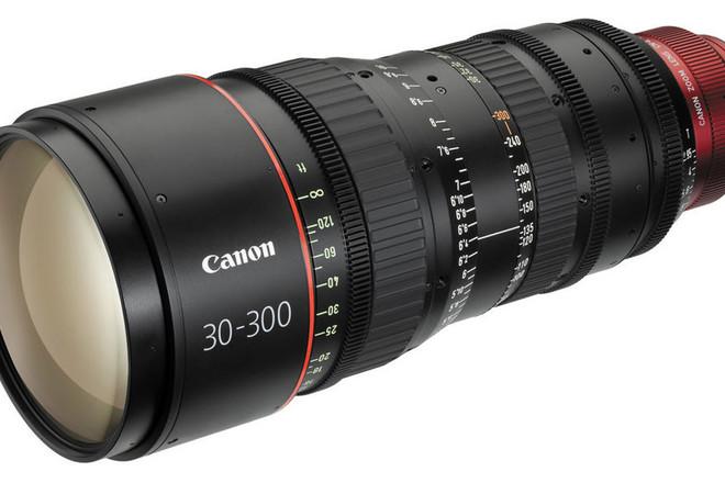 30-300mm CN-E T2.95-3.7 Cinema Zoom - PL Mount