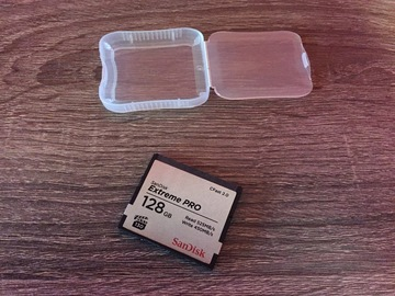 Rent: (2) Sandisk 128GB Extreme PRO CFast 2.0 Memory Cards