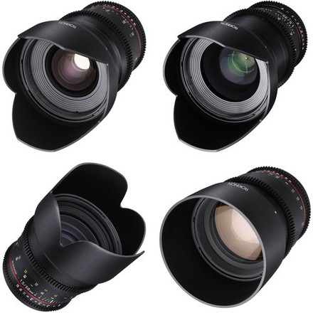 Rokinon Cine  4 Lens Set