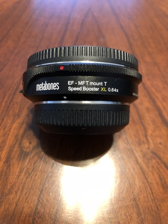 Metabones Canon EF Lens to Micro 4/3 T Speed Booster XL .64x