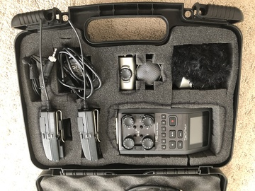 Rent: Sennheiser ew 100 ENG G3 Wireless Kit & H6  Audio Recorder