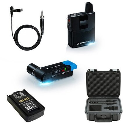 Sennheiser AVX Lavalier Wireless Set w Extra Batteries!!!