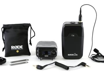 Rent: Rode RodeLink Wireless Filmmaker Kit (wireless lav)