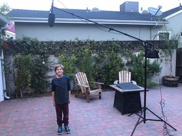 Rent: Mic Stand & Sennheiser MKE 600 Shotgun Microphone KIT