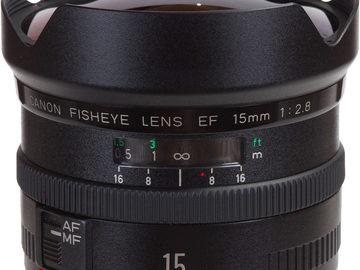 Rent: Canon EF 15mm Prime f/2.8 Fisheye
