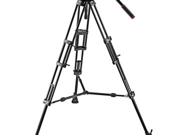 Rent: Manfrotto 509HD Head and 545BK  Tripod