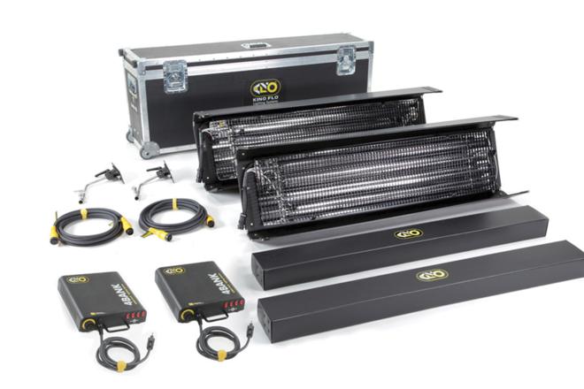 (2) Kino Flo 4x4 Bank Kit