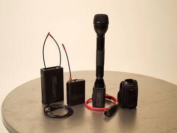 Rent: Lectrosonic Wireless Lavalier/Handheld Mic ENG Package