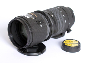 Rent: NIKON 80-200MM t2.8 zOOM LENS duclos cine TYPE