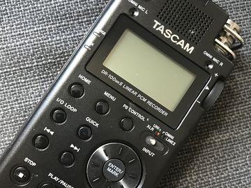 Rent: Tascam DR-100 Linear PCM Recorder