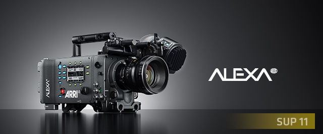 Arri Alexa EV Classic with Canon EF mount + set of 3 lenses