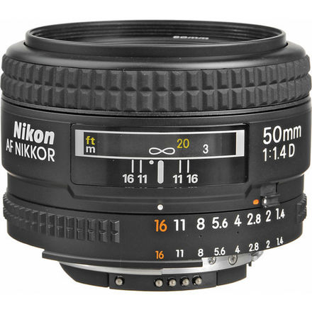 Nikon Nikkor 50mm f1.4 D