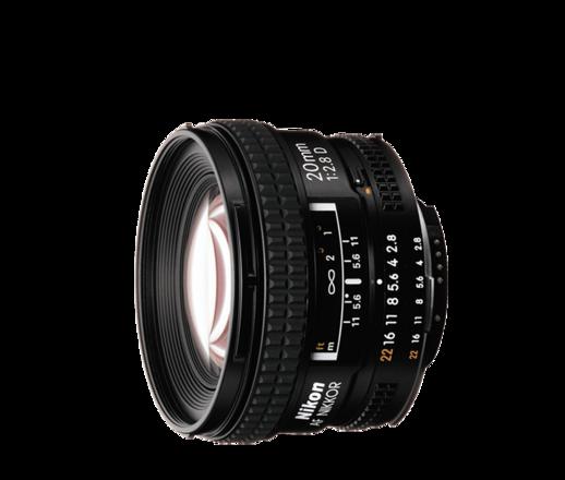 Nikon Nikkor 20mm f2.8 D