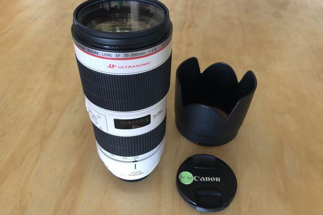 Canon EF 70-200mm f/2.8L II USM Lens