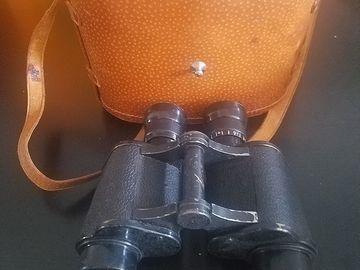 Rent: WWI Binoculars (w/ Case)